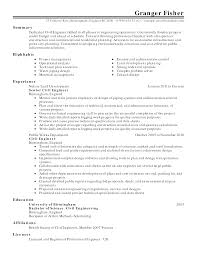 Student Resume Summary Examples by Sample Resume For Experienced Business Analyst