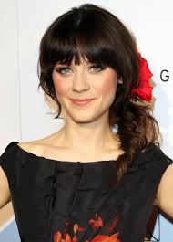 short haircut with side bangs hair style and color for woman