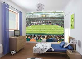 delectable image of sport theme kid bedroom decoration using light