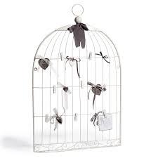 oiseaux en metal bacheca bianca in metallo 51 x 80 cm oiseau decorazione casa