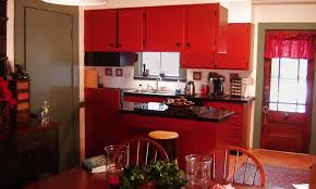 Enamel Kitchen Cabinets by Enamel Kitchen Cabinets Tags Red Cabinet Storage For Kitchen