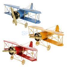 Vintage Home Decor Wholesale Online Buy Wholesale Tin Biplane From China Tin Biplane