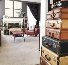 decorating with vintage items home tour salvage sister and mister