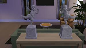mod the sims sculptures