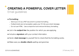 Example Of Email With Resume Attached by Cover Letter In Email Body