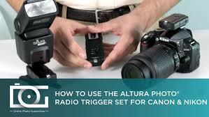tutorial how to use a wireless trigger u0026 receiver set from