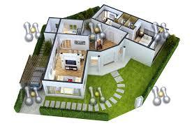 25 more 3 bedroom 3d floor plans simple free house plan maker l 2 bedroom house 3d google search townhouse pinterest cheap 3d house