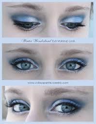 winter wonderland icy blue eye makeup look how to eye makeup
