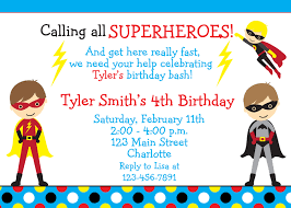 superhero birthday party invitations u2013 gangcraft net