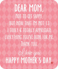 Mother Day Quotes by Crazylou Happy Mother U0027s Day Free Printable