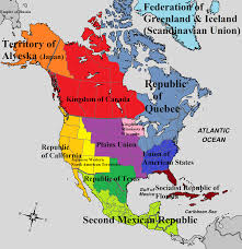 Map Of Western Caribbean by Map Of North America Land Of Empires By Padplay On Deviantart