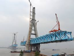 Anqing Yangtze River Railway Bridge