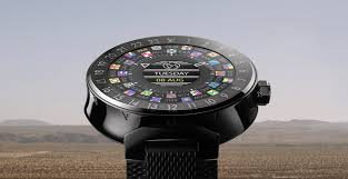 louis vuitton releases a 2 450 android wear watch for reasons