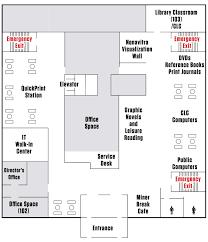 missouri s u0026t library floor plan