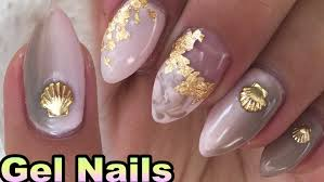 how to gradient gel nails pastel pink and brown simple nail