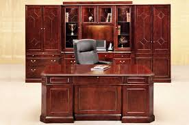 Solid Oak Office Furniture by Desks And Credenzas Officemakers Com Office Furniture Stores In