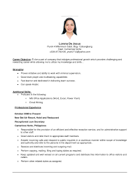 resume objective customer service examples samples of resume objectives free resume example and writing examples of resumes resume amazing simple objective example resume examples samples resumes objectives simple samples intended