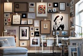 Home Office Wall Decor Ideas Decorating Ideas Appealing Wall Decoration Idea Using Vintage