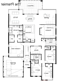 home design floor plan of modern single indian house plans