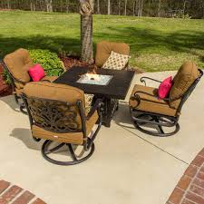 Black Wrought Iron Patio Furniture Sets by Exterior Round Metal Costco Fire Pit On Wooden Floor And Wrought