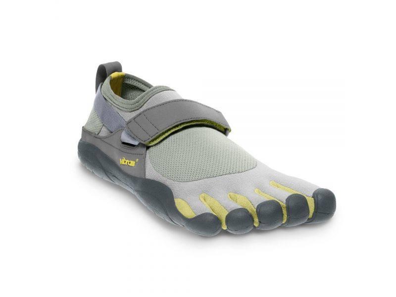 Vibram FiveFingers KSO Camp Shoes Grey/Palm/Clay 45 EU M14545