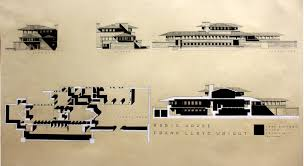 Frank Lloyd Wright Plans For Sale by Frank Lloyd Wright Drawing Pesquisa Google Arquitetura