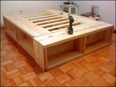 Platform Storage Bed Plans With Drawers by Build A Bed With Storage U2013 Canadian Home Workshop Ideas