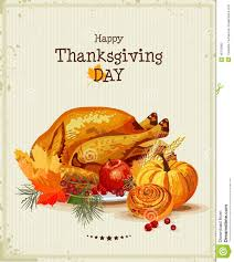 greeting for thanksgiving thanksgiving day greeting card with turkey pumpkin autumn