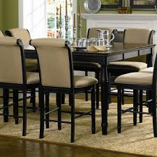 Counter Height Dining Room Tables by Contemporary Black Counter Height Dining Room Sets Pack Intended Ideas
