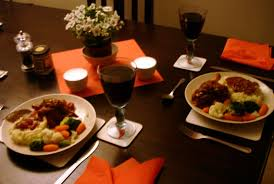 Dinners Ideas For Two Romantic Dinner For Two At Home World The Colors Are Similar With