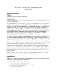 AP English Language and Composition Syllabus   pc mac AP English Language and Composition Syllabus