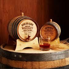 personalized whiskey barrel mini barrel aged whiskey couple