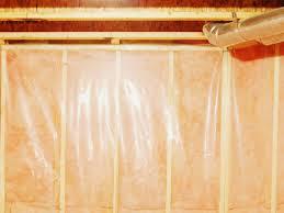 how to install a basement vapor barrier hgtv