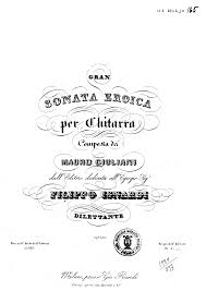 gran sonata eroica op 150 giuliani mauro imslp petrucci