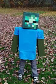 Halloween Minecraft Costume Minecraft Zombie Costume Diy Lwhtxrs Halloween