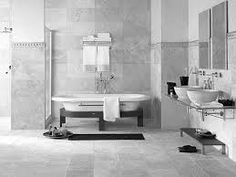 Bathroom Tile Ideas Traditional Colors Black White Glossy Finished Wall Mounted Vanity Rectangle Shape