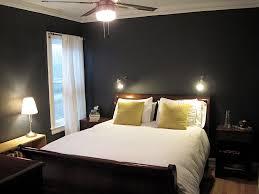 Navy Blue Wall Bedroom Dark Walls Bedroom Home