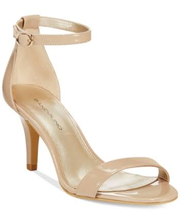Bandolino Madia Open Toe Special Occasion Ankle, Café Latte,