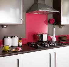 Glass Kitchen Backsplash Pink Glass Splashback Kitchen Kitchens Backsplash