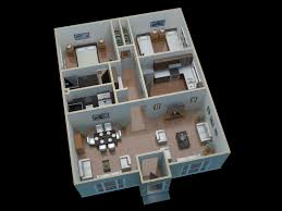 4 bedroom single story house plans u2013 modern house