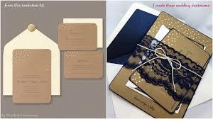 Making Wedding Invitation Cards My Lace Diy Rustic Wedding Invitations
