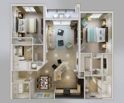 Apartment Floor Plan Design Home Interior Design Ideas - Apartment house plans designs
