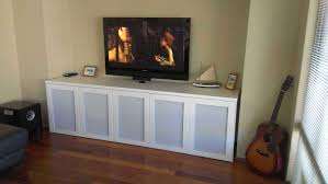 Kitchen Tv Under Cabinet by Ikea Media Cabinet Still Stunning Even Tv U0027s Off Homesfeed