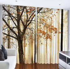 amazon com ambesonne country home decor collection fall trees