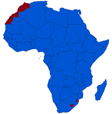Africa Map Game by Monarchies In Africa Wikipedia