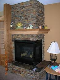 corner fireplace home decor interior exterior luxury to corner