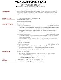 Writing A Summary For Resume Creddle