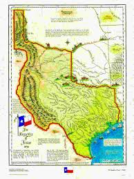 Big Map Of The United States by Historical Texas Maps Texana Series