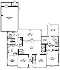 traditional 4 bedroom 45 bath 2 story house plan house plans