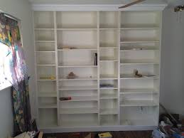 Ikea Bookshelves Built In by Diy Ikea Billy Bookcase Built In Bookshelves Part 2 Run To Radiance